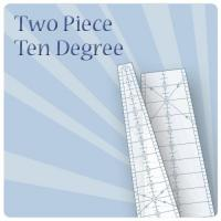 10 degree 2pc ruler