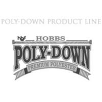 Poly-Down polyester batt